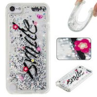 [globalbuy] Liquid Quicksand Glitter Phone Case For Apple ipod Touch 5 / Touch 6 Cover Car/4236028