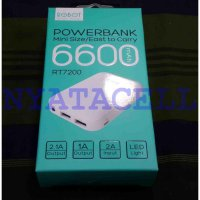 Powerbank Robot RT7200 6600mAh /Power Bank Original Vivan 6600 mAh