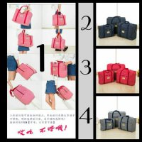 Tas Koper Waterproof Ukuran Medium Luggage Travel Organizer Bag