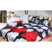 Sprei Lady Rose Disperse Uk.180 x 200 Motif Vivian