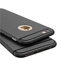 SOFTCASE BLACKMATTE IPHONE 5 WITH DUST AND RUST PROTECTION PLUG