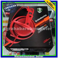 (Headset) SteelSeries Siberia 200 Forged Red Gaming Headset