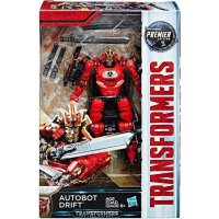 Transformers The Last Knight Premier Deluxe Autobot Drift Action
