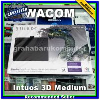 (Peripheral & Aksesoris ) Wacom Intuos 3D Medium CTH690 Pen Tablet