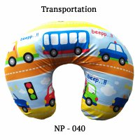 Cherry Bantal Menyusui Motif Transportation / Nursing Pillow