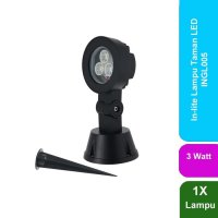 New IN LITE INLITE Lampu Taman LED Outdoor 3W - INGL005 Zn1452