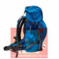 Tas Ransel Carrier EIGER RHINOS 1242 Blue 45L + Rain Co