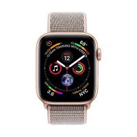 Apple Watch Series 4 GPS Gold Alum Case Pink Sand Sport Loop 44mm
