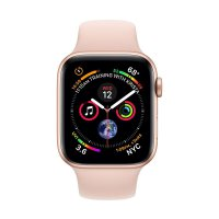 Apple Watch Series 4 GPS Gold Aluminium Case Pink Sand SportBand 44mm