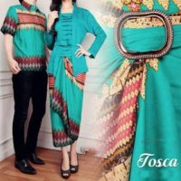 Busana Muslim | Gamis Couple | Baju Batik | Baju Formal | Baju Pasangan | Batik Kapel GMPK AS66