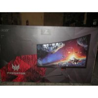 Acer Monitor PREDATOR X34 34' Curved IPS Zero Frame UltraWide QHD