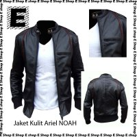Jaket Kulit Ariel NOAH Dark Black / Hitam Exclusive