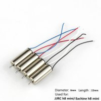 [globalbuy] 4pcs Motors For Eachine H8 Mini Jjrc H8 Mini Rc Quadcopter Spare Parts Motor 2/4562374