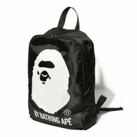 A Bathing Ape Bape Head Backpack Bag Japan Appendix Ori