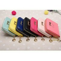 Dompet wanita dompet import mini ribbon wallet