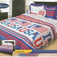 California USA Sprei 180x200x20