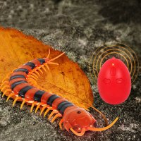 [globalbuy] Remote Control Simulation Centipede IR Centipede Tricky Funny Toy Prank Gift H/4475421