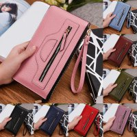 New Fashion Lady Women Leather Wallet Long Clutch Card Holder Purse Handbag