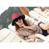 HO4866 - Topi Pantai Sun Hat Beach Mix Color