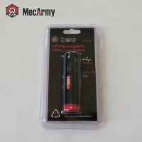 MECARMY 18650 Lithium Ion Battery 3400mAh 3.7V Micro USB Charger