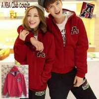 NBA Club Couple Jacket Red