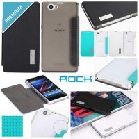 Sony Xperia Z1 Compact - Rock Elegant Series Leather Case