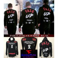 Faze CLan Black Jumper - Jaket Faze Clan Black