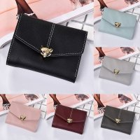 Fashion Women Leather Wallet Clutch Purse Lady Short Handbag Bag