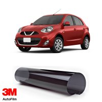 3M Auto Film / Kaca Film Mobil - Paket Small Eco Black u/ Nissan March