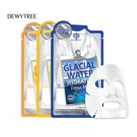 [DEWYTREE] GLACIAL WATER HYDRATING / LEMON BRIGHTENING / COLLAGEN RESILIENCE FOCUS MASK 24g /10sheet
