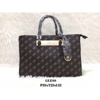 Tas Import Wanita ORIGINAL GUESS CHARM - BROWN