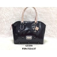 Tas Import Wanita ORIGINAL GUESS FLOWERS - BLACK