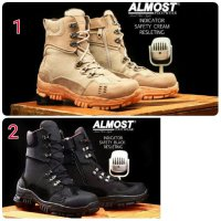 Sepatu Militer Delta Tactical Original Safety Almost Indicator