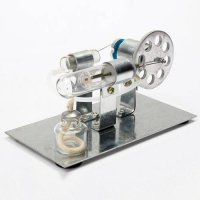 [globalbuy] NEW Mini Hot Air Stirling Engine Motor Model Science & Discovery Toys Educatio/4461514