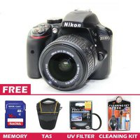 Digital Camera NIKON D3300 24.20 Megapixels - FREE 1x DSLR Bag