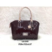 Tas Import Wanita ORIGINAL GUESS FLOWERS - BROWN