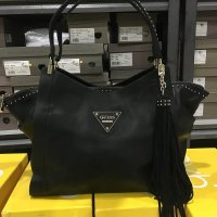 GUESS SATCHEL BAG BLACK