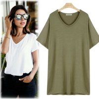 Basic V-neck Short Sleeve Polo [Mild] [CA58] korean fashion style K-fashion