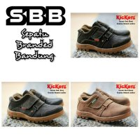SEPATU PRIA KICKERS MIDLE BOOTS SAFETY PREPET GUNUNG HIKING OUTDOOR