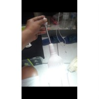 Limited Sambungan lampu PANJANG meja belajar penerang spiral Fitting Holder Zn2455