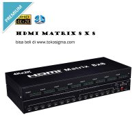 4K*2K Hdmi Matrix 8X8 With Ir And Rs-232 Remote Control