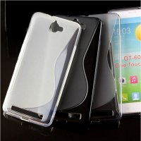 Case Ultra Thin TPU Case for Alcatel One Touch - Transparent