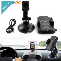 Car Qi Wireless Charger Transmitter Cradle For Smartphone