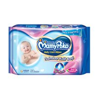 Mamy Poko Baby Wipes Non Parfum/Non Alkohol/Extra Air Murni 52 lbr