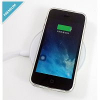 Ibuy Fantasy Wireless Charger White + Qi Wireless Receiver Lightning