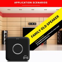 B7 Bluetooth 4.1 HiFi Audio Music Receiver Handfree with NFC and Mic