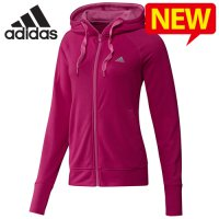 Adidas hooded top / new prime zip-up hooded jacket for women hooded zip-zip-up training / AD-G71023