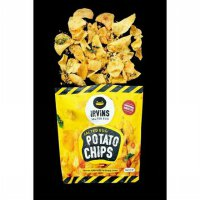 Snack Irvins Salted Egg Potato Chips Singapore Size Big (230g)