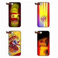 [globalbuy] Retro National ES Spain Flag Case Capa Cover For Apple iPod Touch 4 5 6 iPhone/4506522