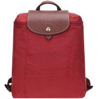 Longchamp Le Pliage Backpack Women Fashion Nylon Leather Backpack Lightweight Daypack Shoulder Bags